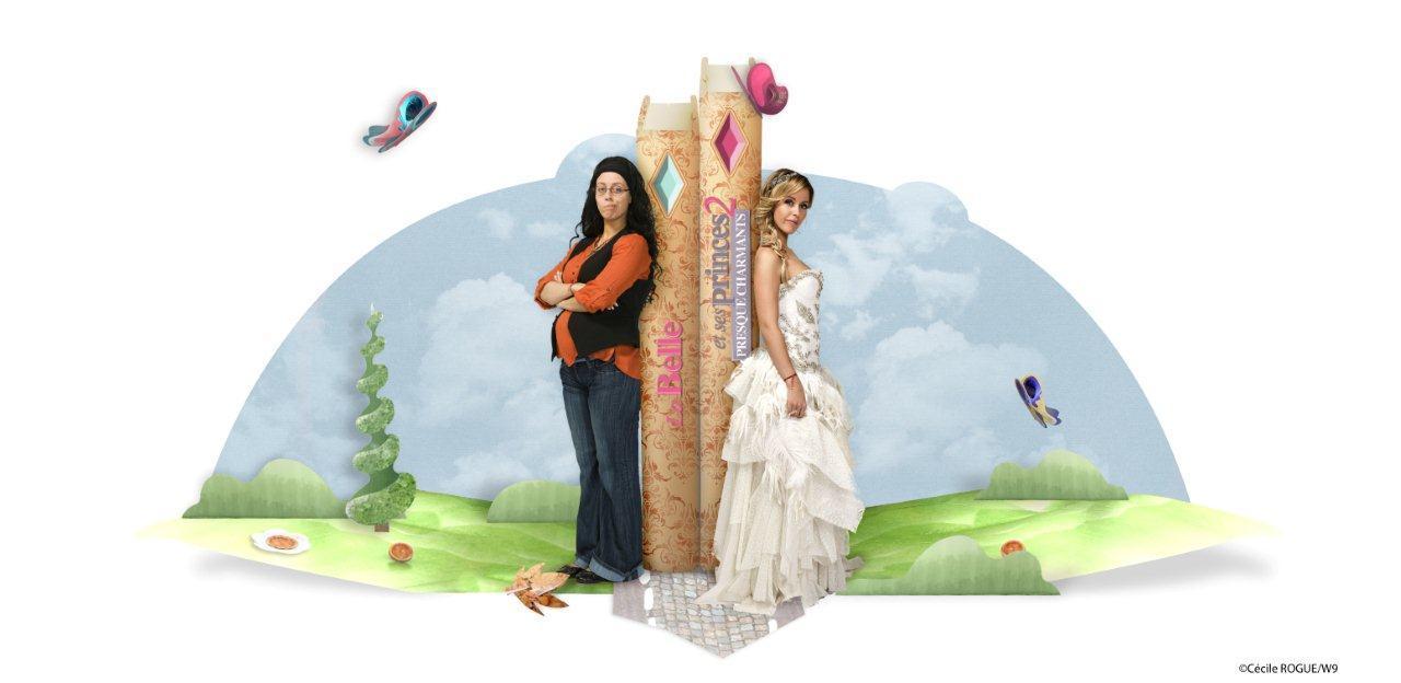 photo Demain soir rendez-vous sur W9 pour la nouvelle saison de La belle et ses princes 2 #LBESP2