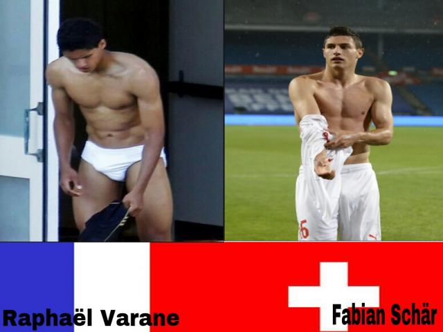 photo article SEXY FOOTBALL WORLD CUP : FRANCE-SUISSE