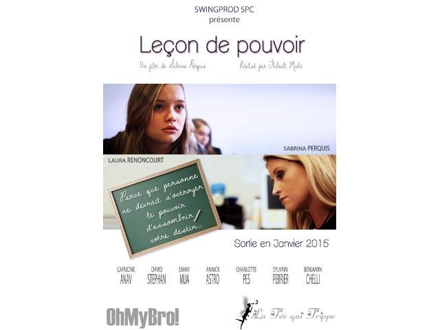 photo article Leçon de pouvoir : le nouveau court métrage de @officielsabrina