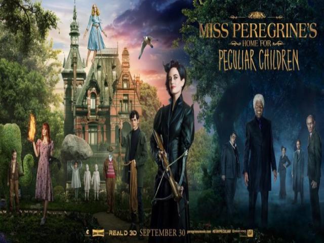 """photo """"Miss Peregrine et les enfants particuliers"""" de Tim Burton"""