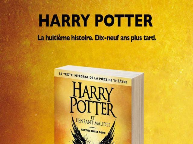 """photo """"Harry Potter et l'Enfant Maudit"""" le dernier succès de J.K Rowling"""